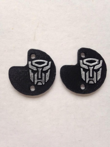 "CPE-AUTOMOTCVR:  Transformers ""Autobot\"" Embossed Motor Covers"