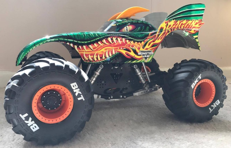 CPE-ARES22:  Axial Complete Race Chassis - 2.2 Wheels