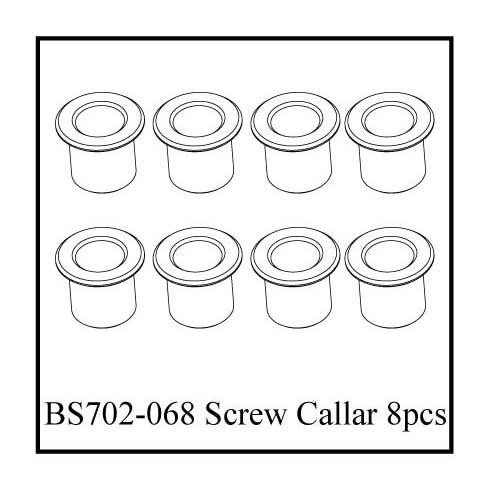 BS702-068:  Ground Pounder Kingpin Screw Collars