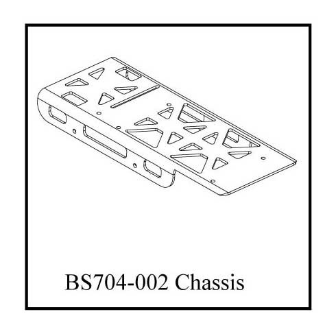 BS704-002gm:  Ground Pounder Battery/Electronics Plate