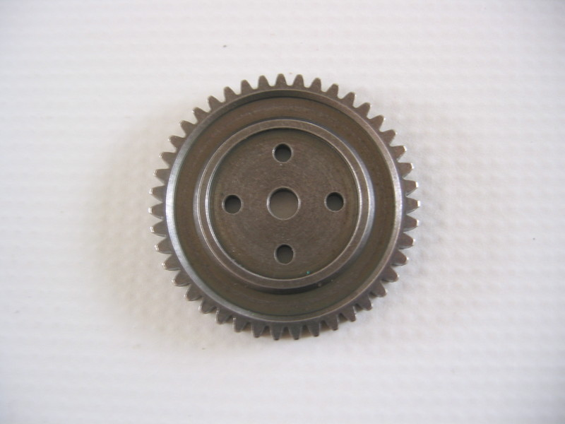 BS801-014STL:  Ground Pounder Mod1 43T Steel Spur Gear
