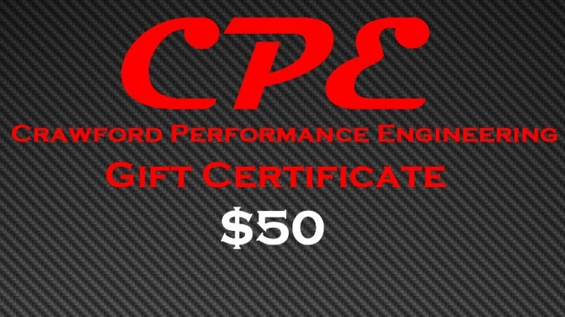 CPE-GC50:  CPE $50 Gift Certificate