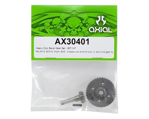 "CPE-AX30401:  Axial HD ""Overdrive\"" Bevel Gear Set (36/14)"