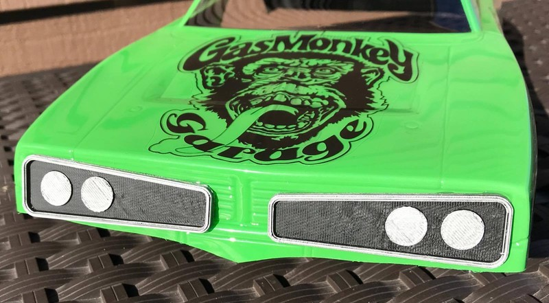CPE-GMGGRILL:  Gas Monkey Garage \'70 Super Bee Grill Set