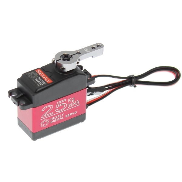 CPE-SER9:  Hexfly Hi-Torque Metal Gear Digital Servo - Waterproo