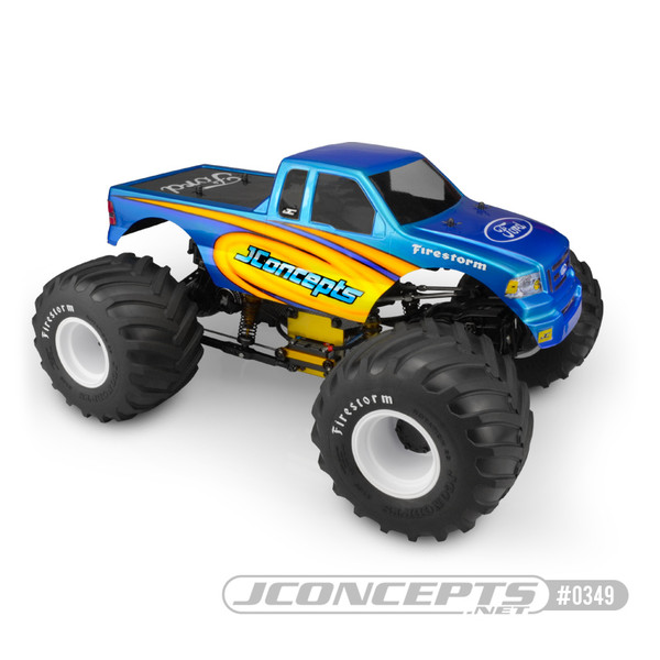 JConcepts 10th Scale 2008 Ford F150 Supercab Body