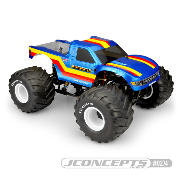 JConcepts 10th Scale 2010 Ford Raptor MT Body