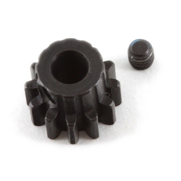 CPE-PINMOD12_5: 12T Mod1 Steel Pinion Gear - 5MM Shaft