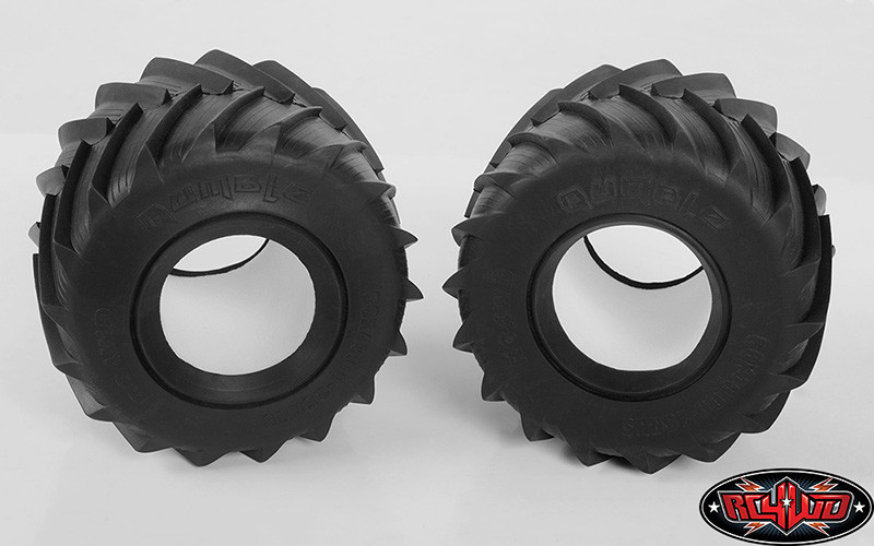 CPE-RUMBx2s:  Clodbuster Rumble Monster Truck Tires - X2S