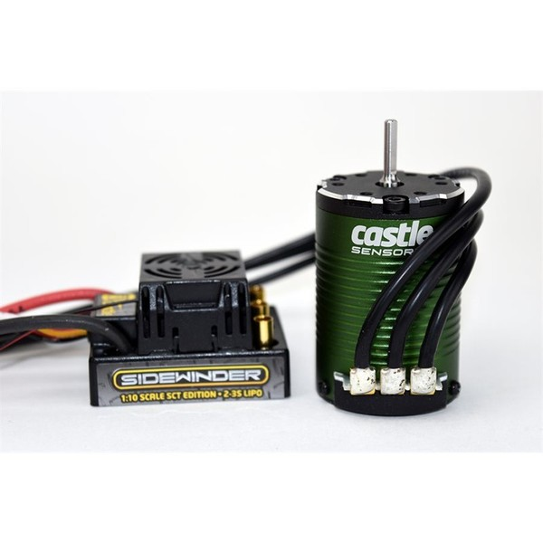CPE-CCSCT3800:  Sidewinder SCT/3800kv Brushless Motor Combo
