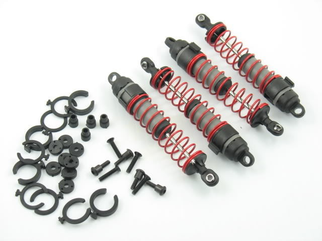 CPE-SHK5:  Traxxas Big Bore Shock Set