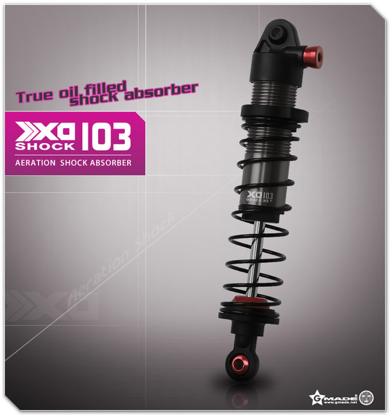 CPE-SHK6:  GMade XA 103mm Aeration Shock Set