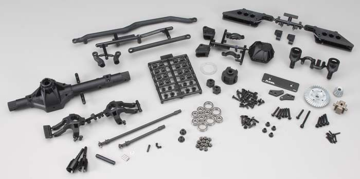 CPER-AR60AXLE:  Complete Axial AR60 Axle Assembly