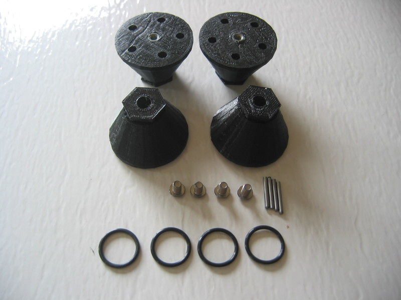 CPE-GPHUB: Ground Pounder Clodbuster Wheel Hub Adapters