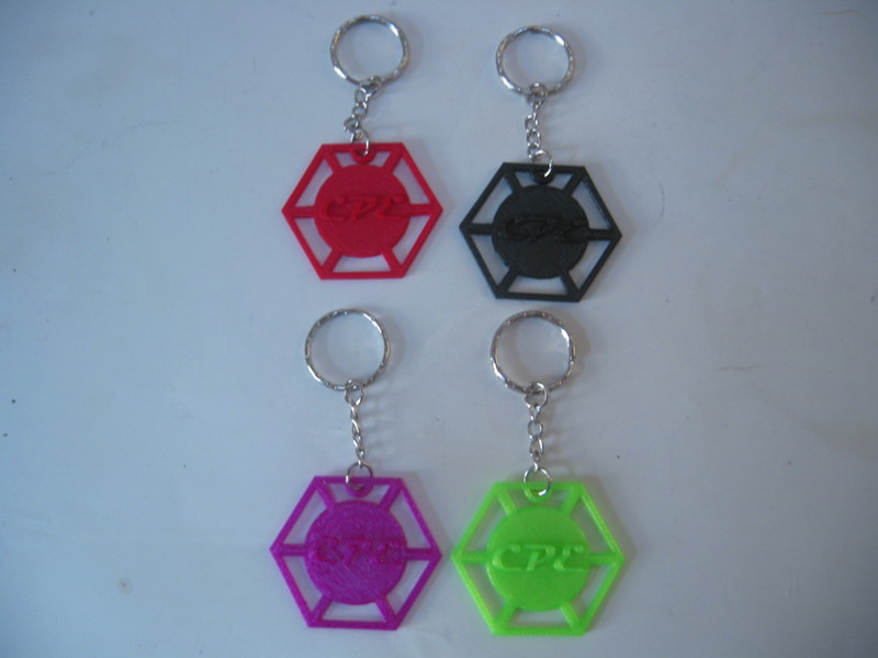 CPE-CPEKEY:  Embossed CPE Keychain
