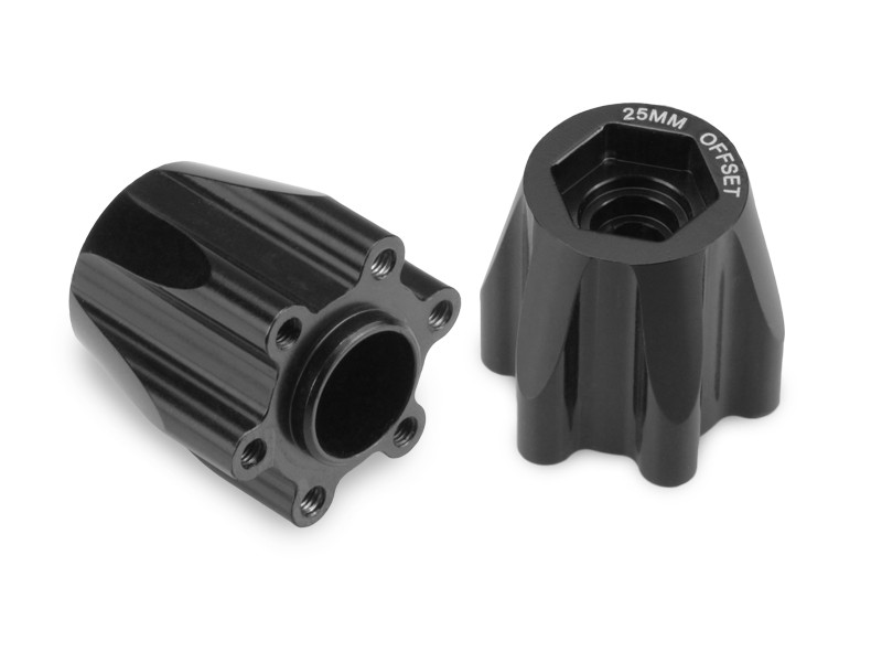 CPE-TRIBHUB25:  JConcepts 25mm Aluminum Hub Spacer Set