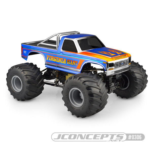 JConcepts 10th Scale 1984 Ford F250 Body