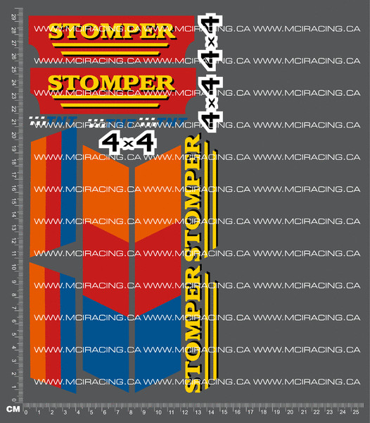 CPE-STOMPERDECAL:  Stomper Decal Sheet