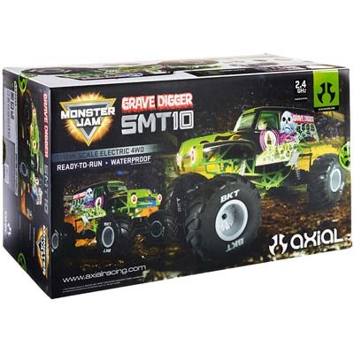 CPE-SMT10gd:  Axial SMT10 RTR - Grave Digger