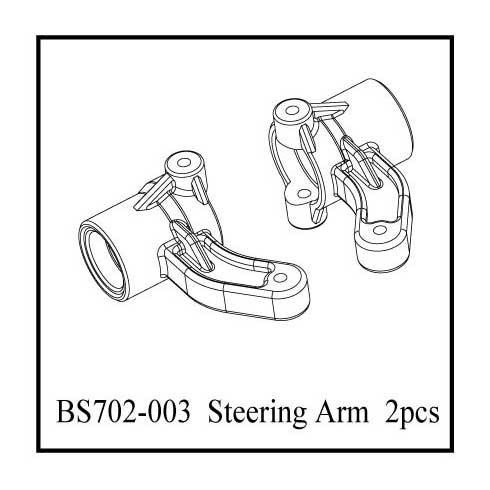 BS702-003:  Ground Pounder Steering Knuckles