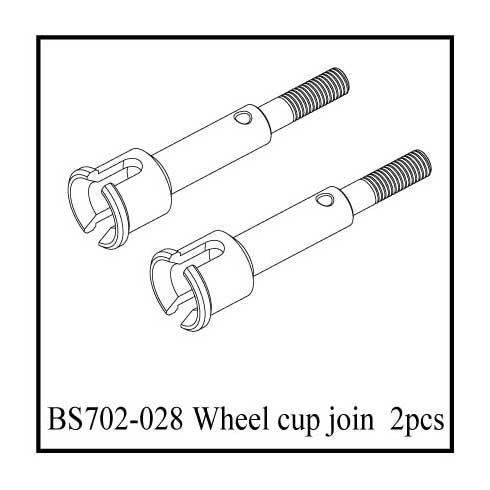 BS702-028: Ground Pounder Outer Stub Axles
