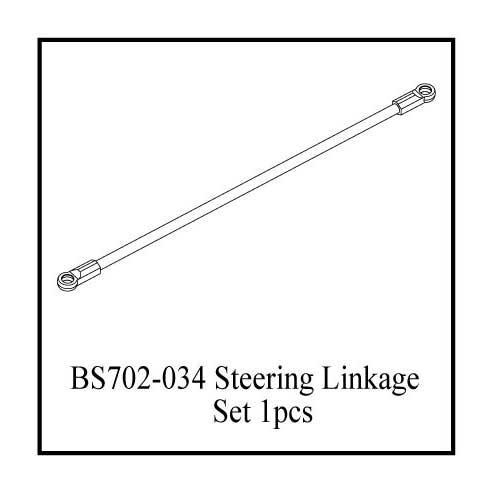 BS702-034gm: Ground Pounder Steering Link - Long