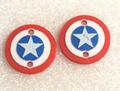 "CPE-CAPAMMOTCVR:  ""Captain America"" Embossed Motor Covers"