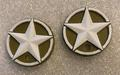 CPE-ARMYMOTCVR:  Army star Embossed Motor Covers